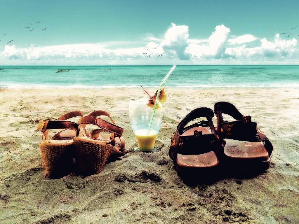 Borsone comodo e pieghevole in cui inserire tutto l'occorrente per la spiaggia
